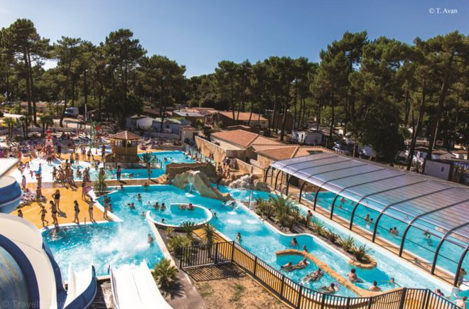 Camping palmyre loisirs camping la palmyre for Hotel royan avec piscine