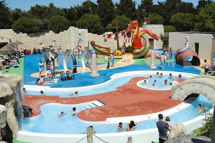 Camping 5* Le Clarys Plage