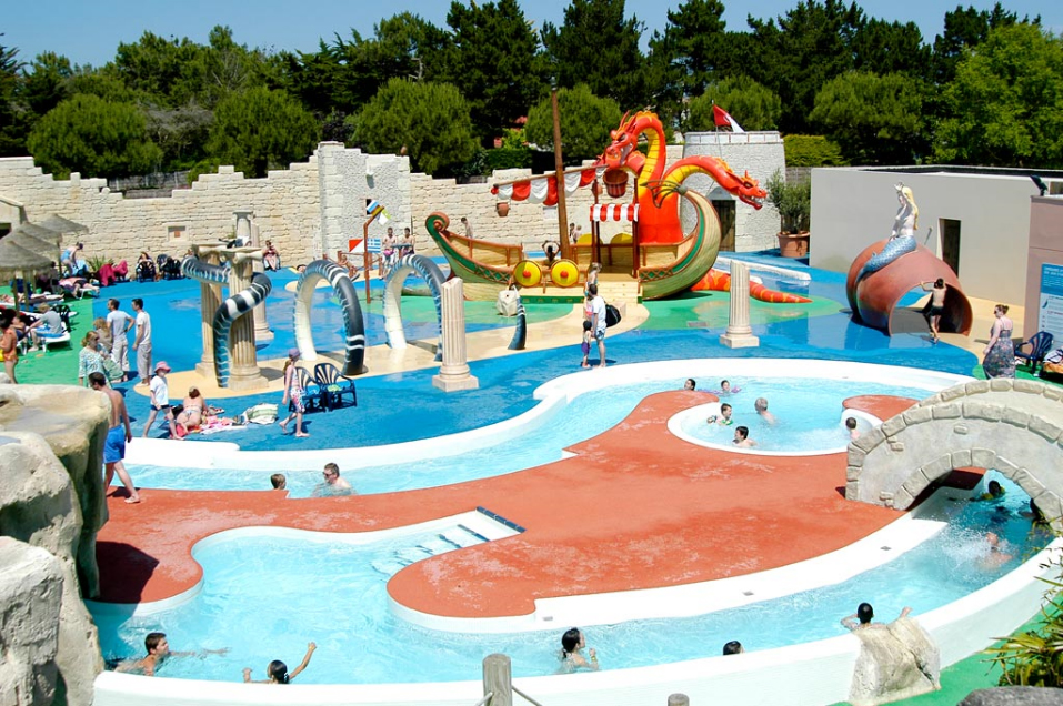 Camping 4* Le Clarys Plage