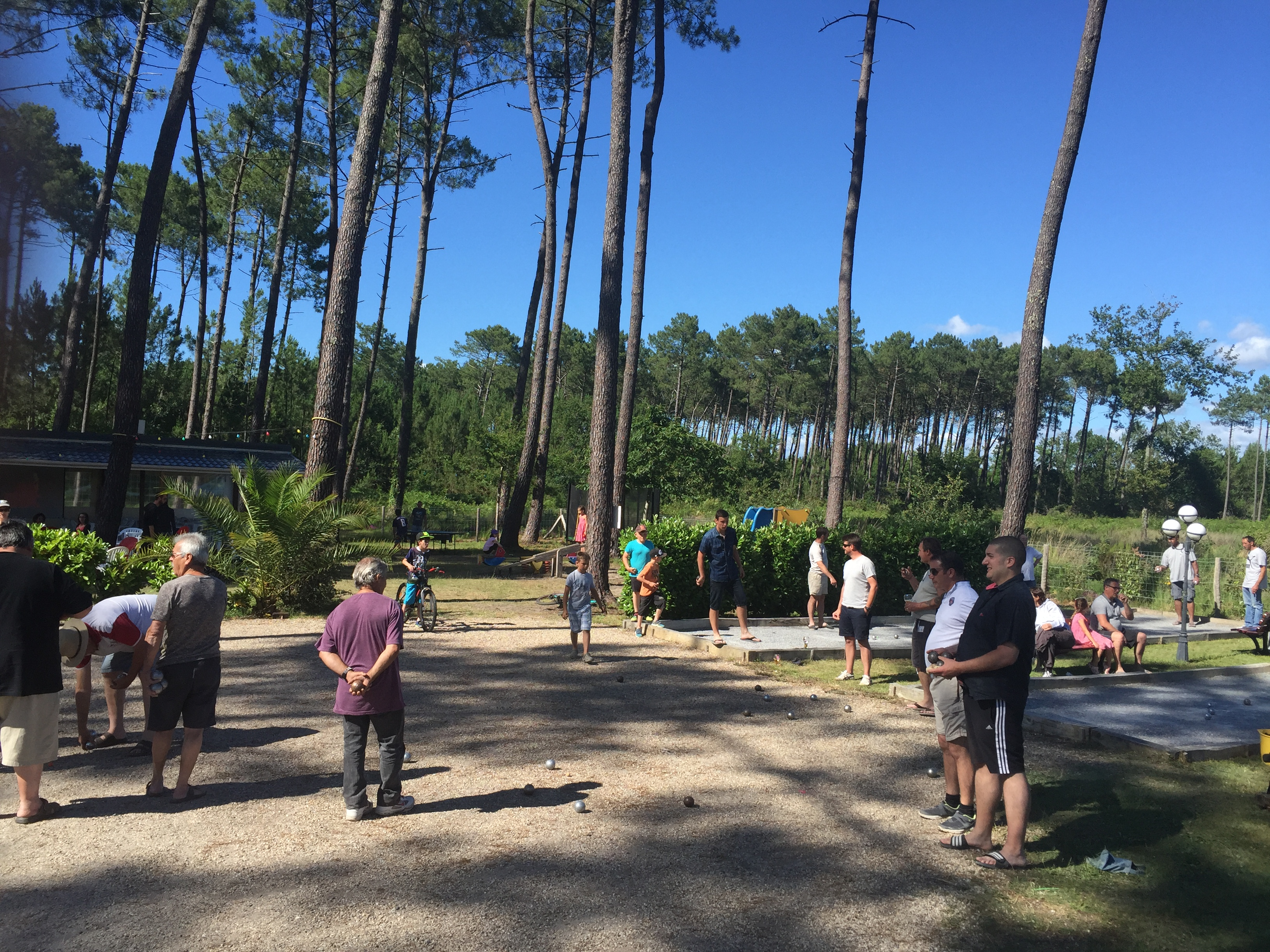 France - Atlantique Sud - Gastes - Camping Les Echasses