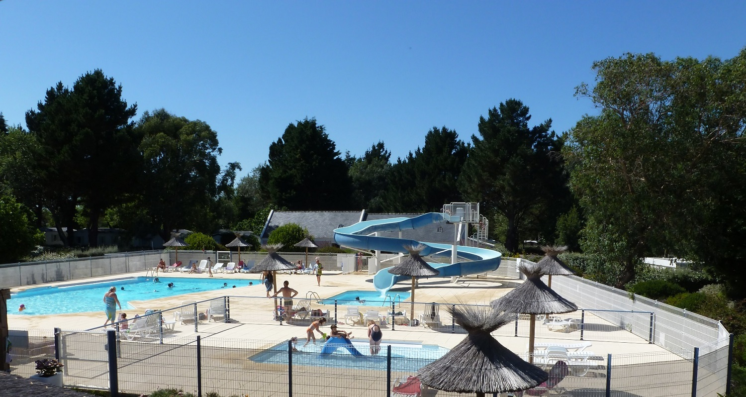 Campings belle le en mer r servation d s 179 - Belle piscine ile de france ...