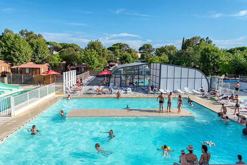 Locations de vacances fr jus r servation d s 78 for Camping a frejus avec piscine