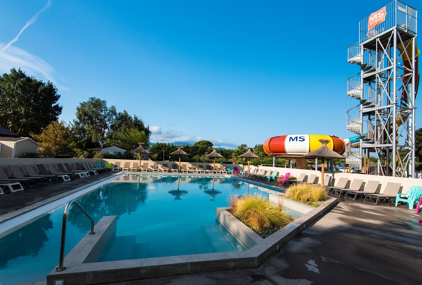 Camping club le littoral 5 5 argeles sur mer for Camping a argeles sur mer avec piscine