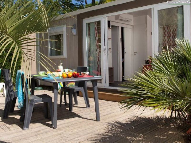 MOBILHOME 6 personnes - 3 CHAMBRES, HOLIDAY HOME PLUS + Clim (entre 0 et 5 ans)