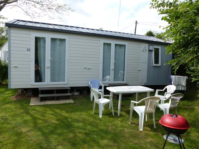 MOBILHOME 5 personnes - 2 chambres - Terrasse