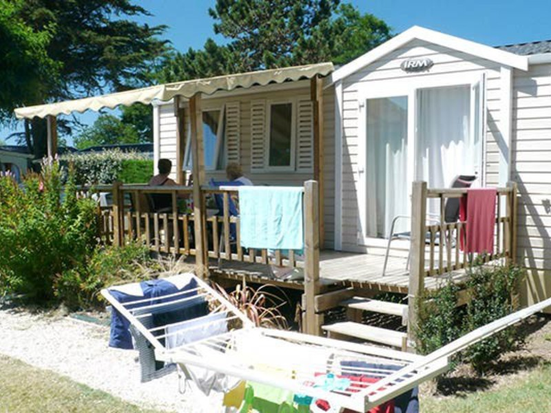 MOBILHOME 7 personnes - 3 chambres + TV (C7I)