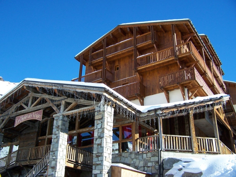 r 233 sidence chalet des neiges hermine location val thorens