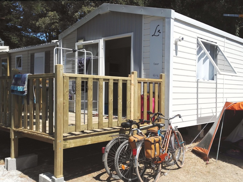 MOBILHOME 2 personnes - Vue Mer