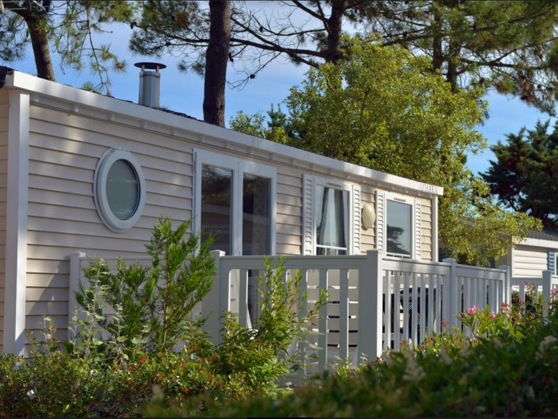 MOBILHOME 6 personnes - Cottage Grand Confort 2 chambres + terrasse + TV 4/6