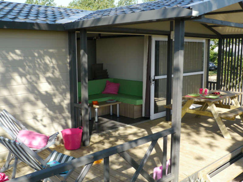 MOBILHOME 6 personnes - 3 chambres + TV (P7)