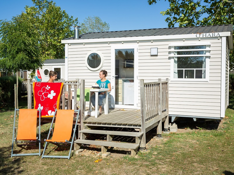 MOBILHOME 2 personnes - Plage
