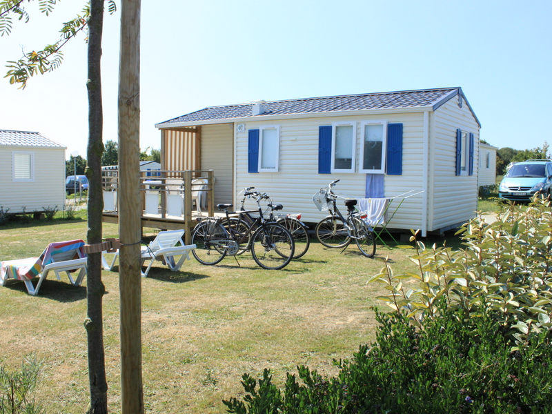 MOBILHOME 4 personnes - OEILLET
