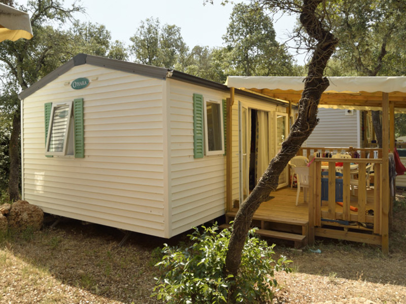 MOBILHOME 4 personnes - Confort family, 2 chambres
