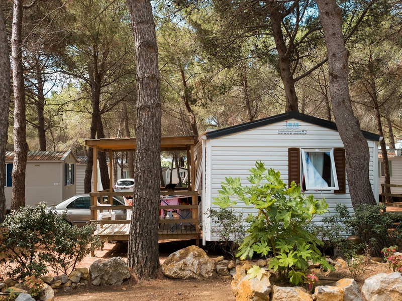 MOBILHOME 4 personnes - BAMBOU avec climatisation