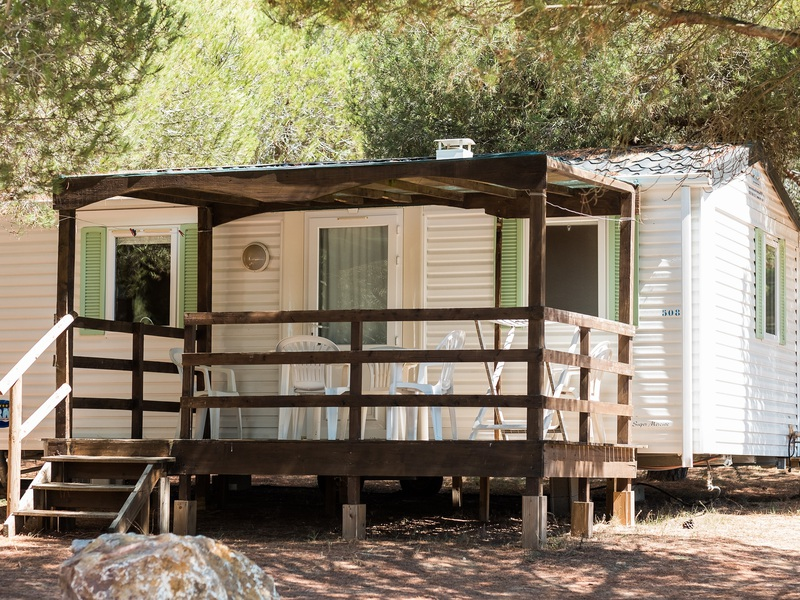 MOBILHOME 4 personnes - BAMBOU