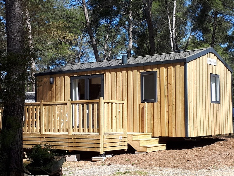 MOBILHOME 6 personnes - 25 m²