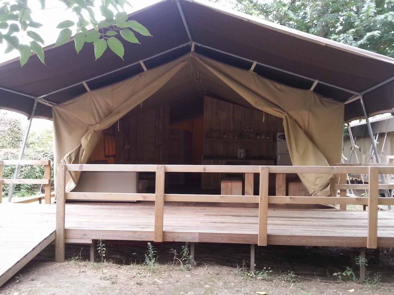 TENTE 6 personnes - Lodges Safari