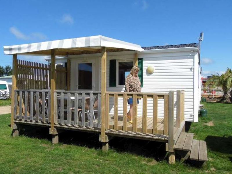 MOBILHOME 4 personnes - ECO 22 M²,  2 chambres
