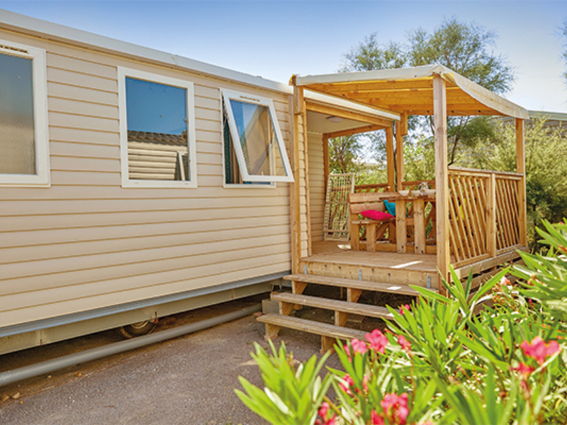 MOBILHOME 6 personnes - Cosy - climatisé 3 chambres (I63C)