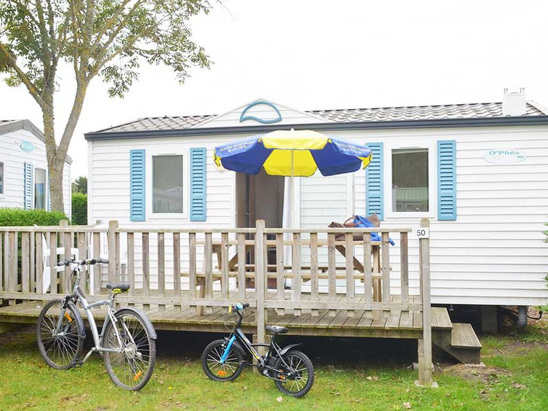 MOBILHOME 4 personnes - Eco, 2 chambres