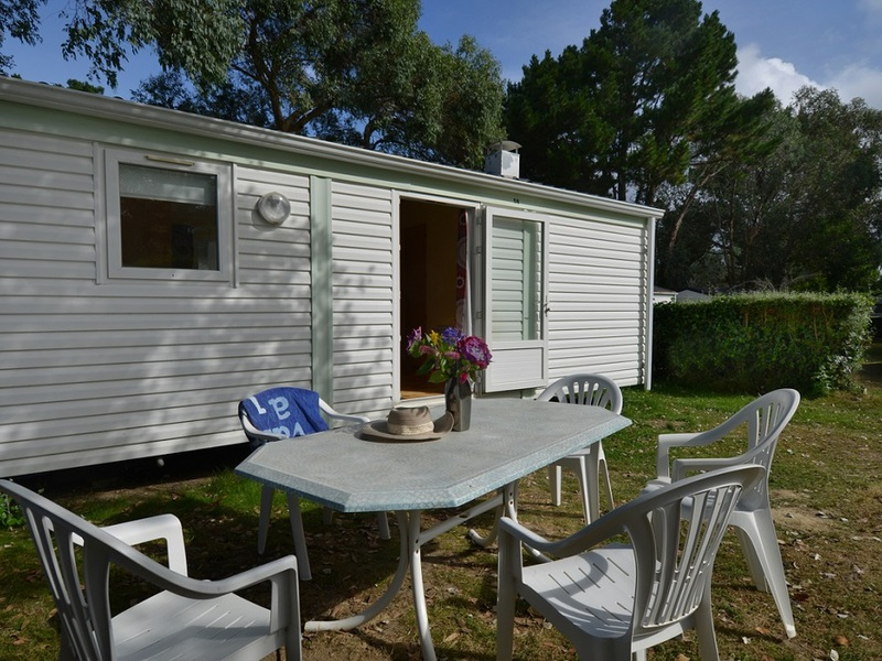 MOBILHOME 5 personas - sin terraza 26m2 , 2 habs.