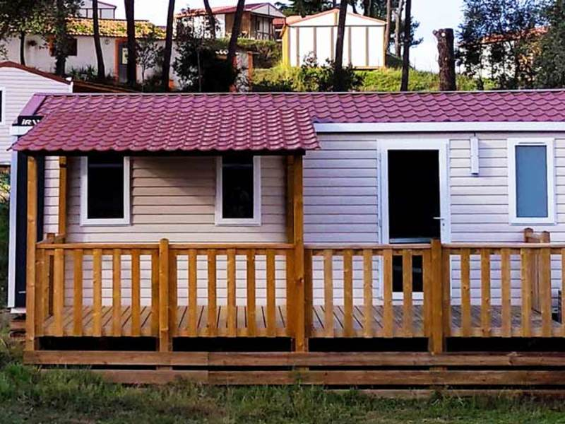 MOBILHOME 6 personnes - 3 chambres + clim (C7T)