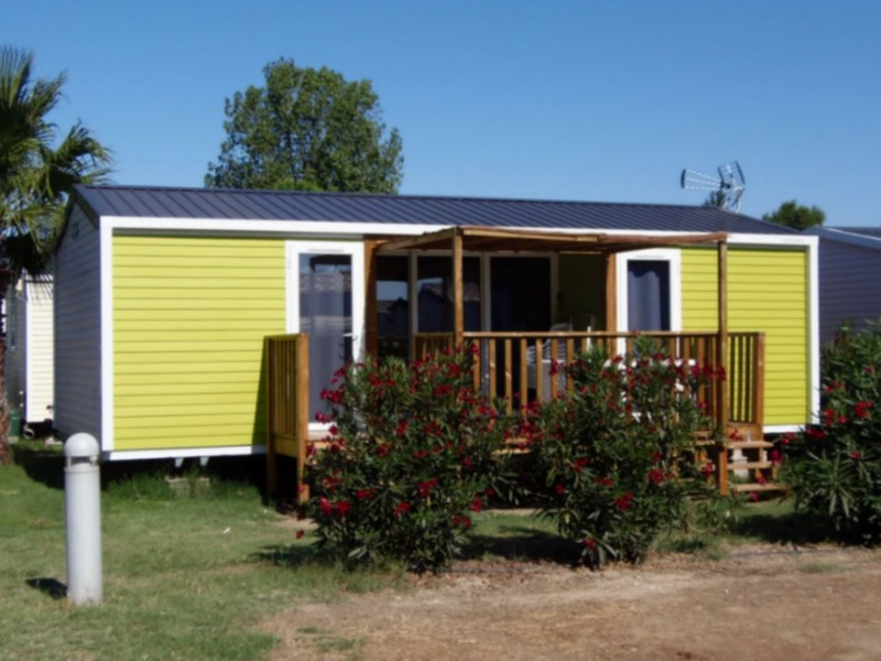 MOBILHOME 6 personnes - 2 chambres + TV