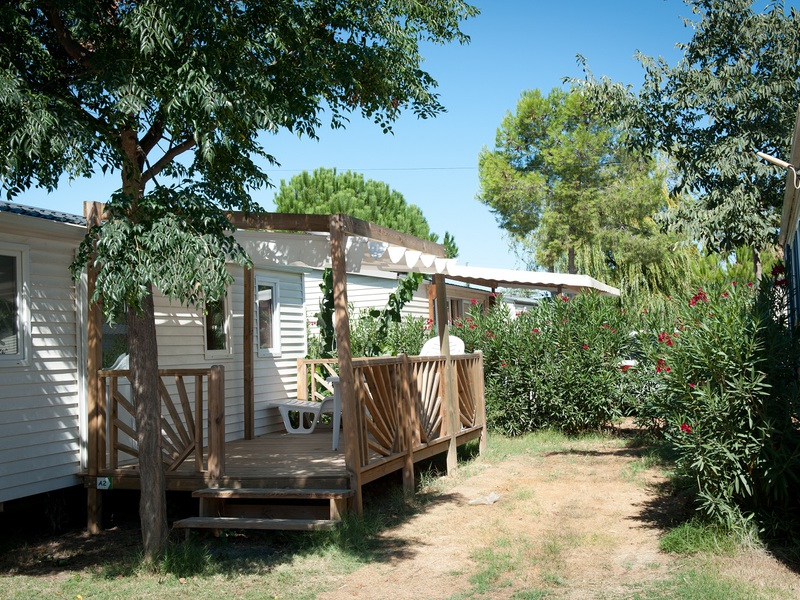 MOBILHOME 8 personnes - 3 chambres + TV + clim'