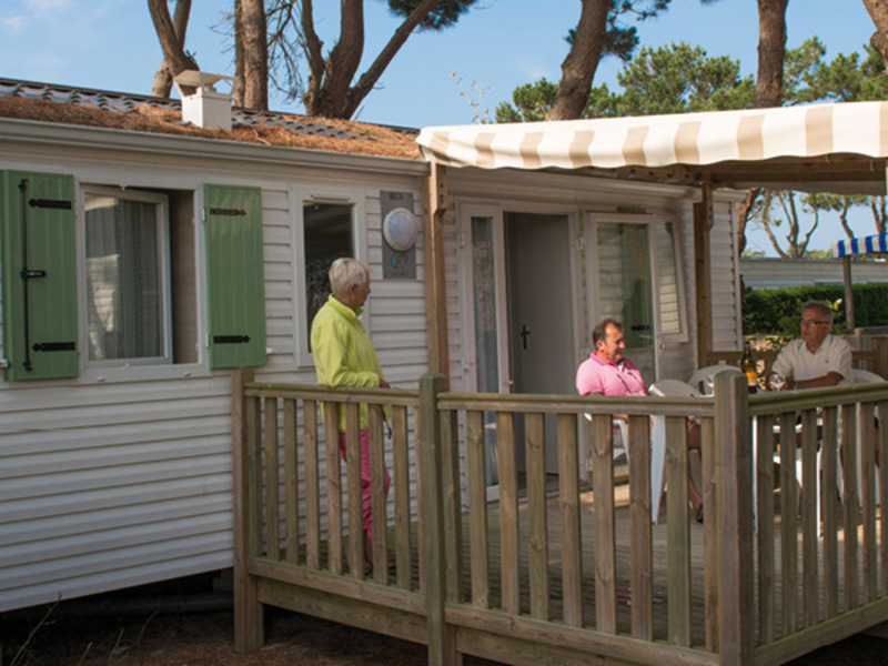MOBILHOME 5 personnes - AUTHENTIQUE