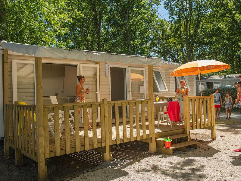 MOBILHOME 4 personnes - I42C - Mobil-home Cosy climatisé 4 personnes 2 chambres