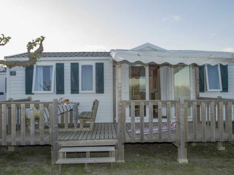 MOBILHOME 6 personnes - I62C - Mobil-home Cosy climatisé 6 personnes 2 chambres