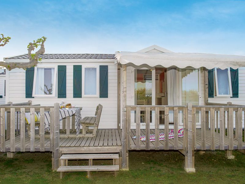 MOBILHOME 6 personnes - I63C - Mobil-home Cosy climatisé 6 personnes 3 chambres