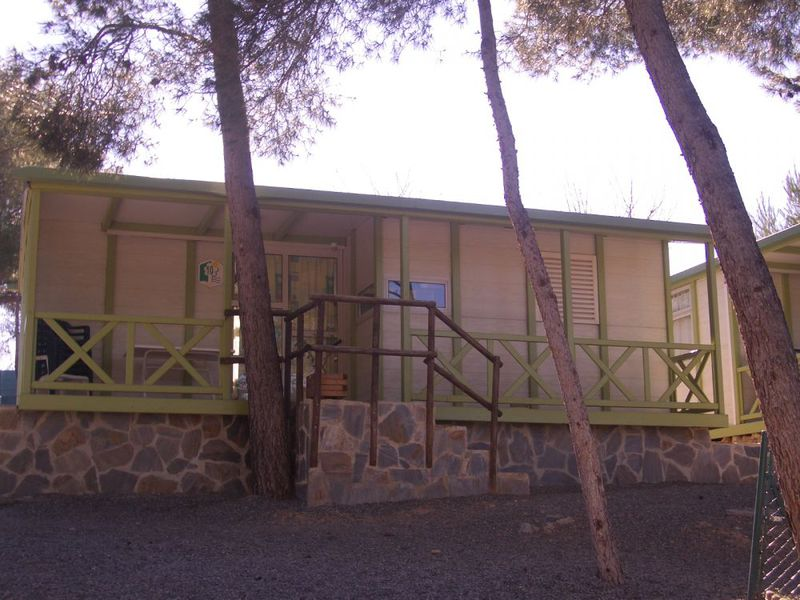 CHALET 6 personas - Cottage 42m2 + TV + Clim + WiFi (de pago), 3 habs.