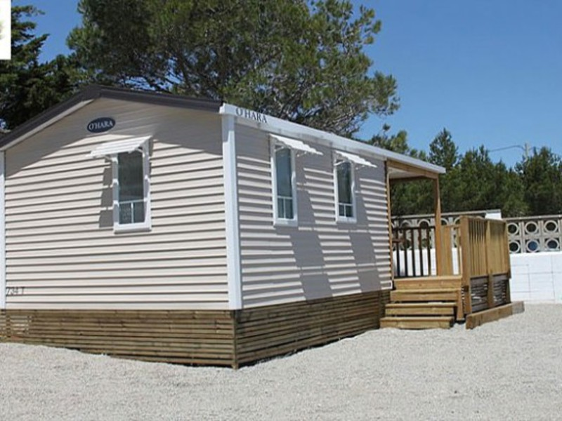 MOBILHOME 4 personas - Olea 27m2, 2 habs.