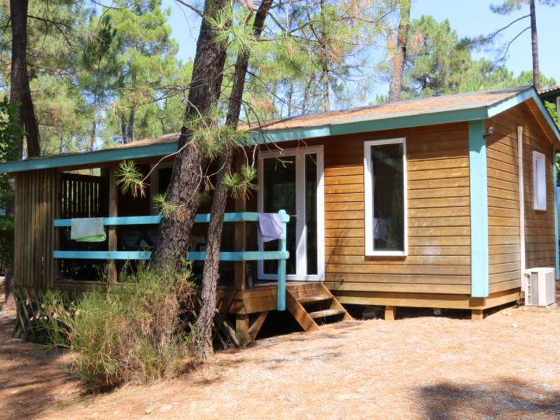 CHALET 7 personas - Mimosa 42m2 + Clim + WiFi gratis, 2 habs.