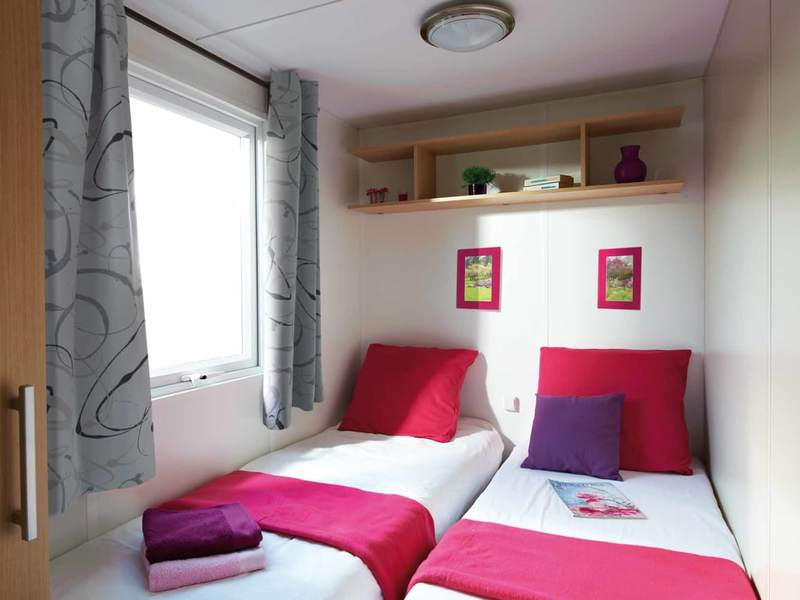 MOBILHOME 6 personas - Excelle, 3 Chambres + TV + Clim