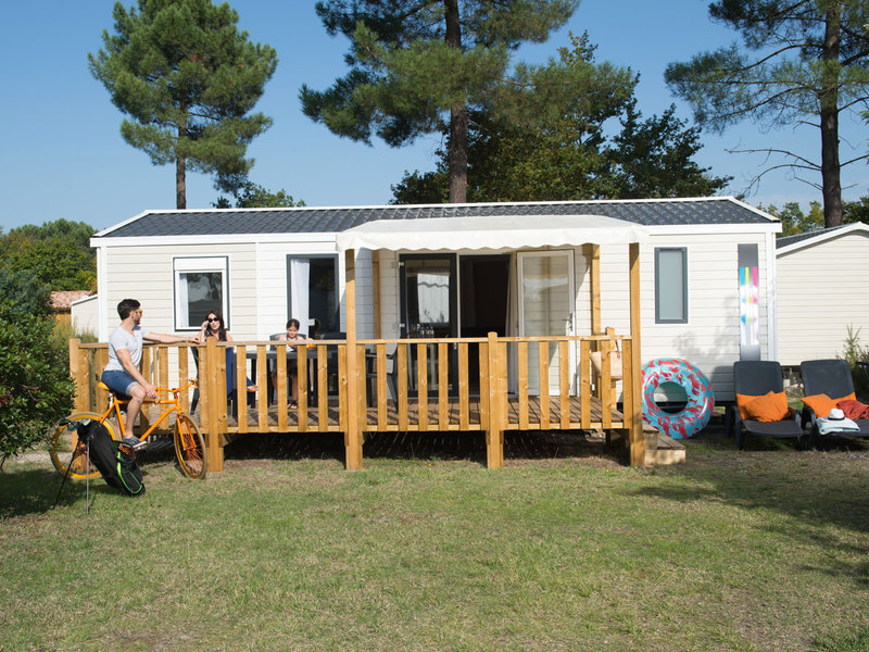 MOBILHOME 6 personnes - Cottage Privilège 2 chambres