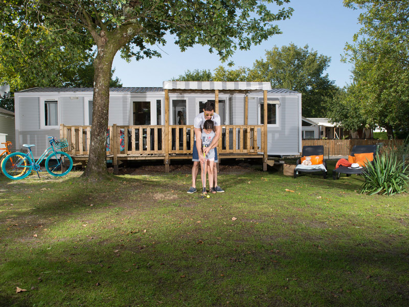 MOBILHOME 6 personnes - Cottage Privilège 3 chambres