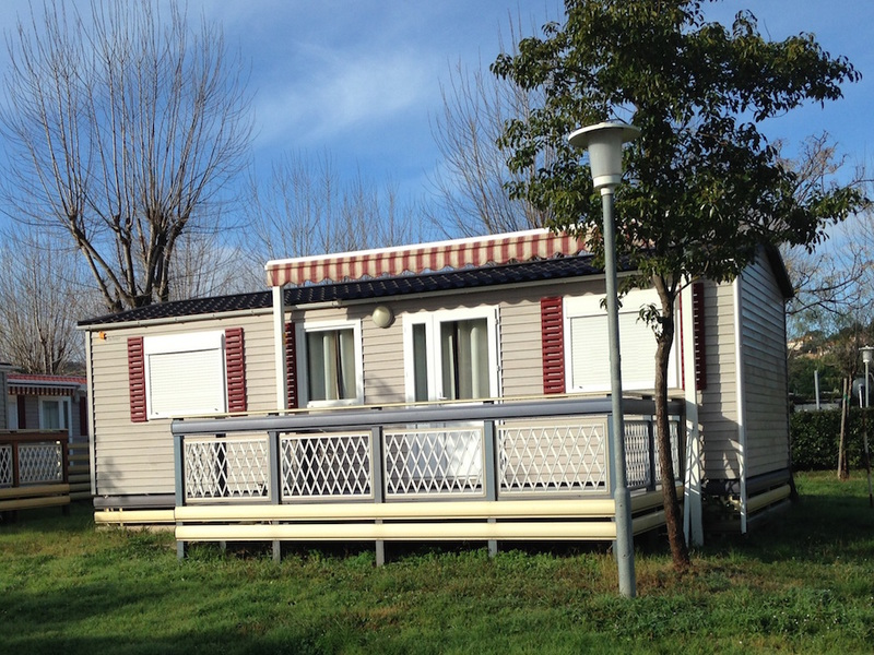 MOBILHOME 5 personnes - 3 CHAMBRES + clim + TV
