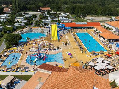 Immobilhome sur Camping 4* aux Mathes