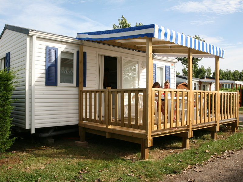 MOBILHOME 4 personnes - Loisirs  + TV