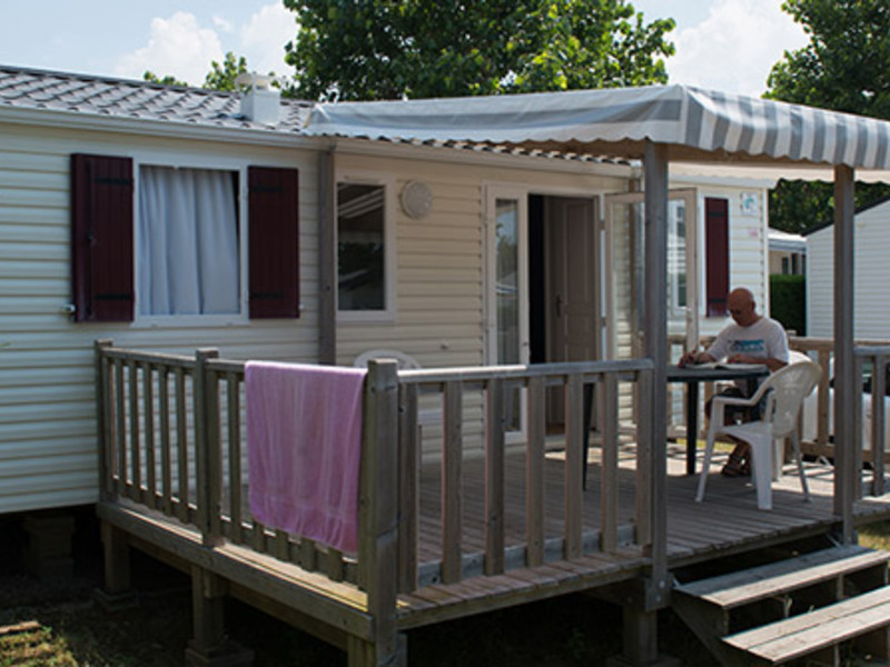 MOBILHOME 5 personnes - Authentique + TV