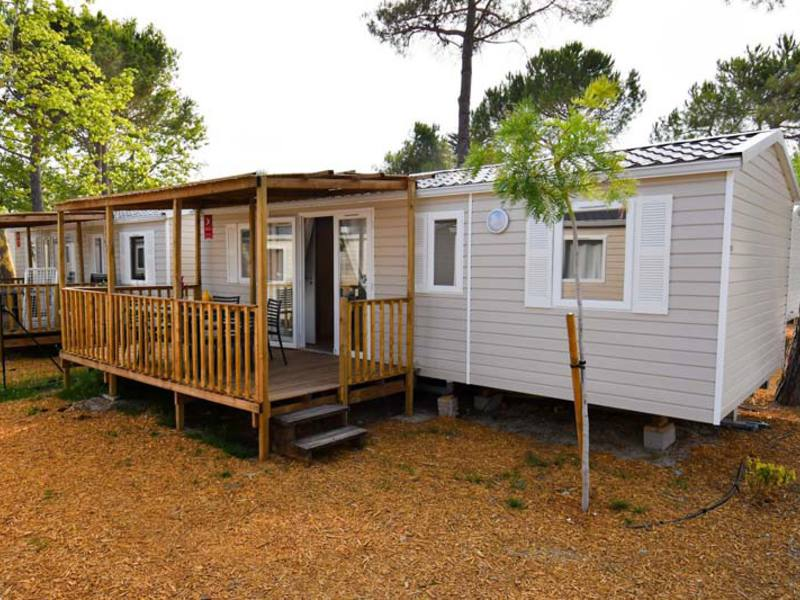 MOBILHOME 8 personnes - 3 chambres + TV + CLIM