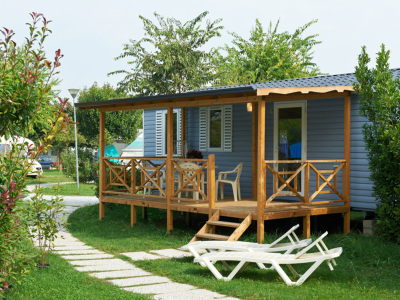 MOBILHOME 6 personas - Family Deluxe 32m2 + Clim, 3 habs.