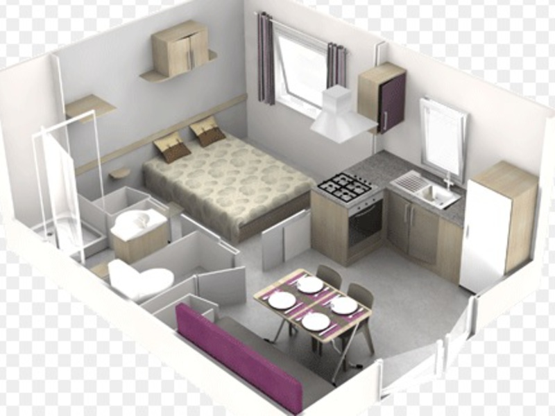 MOBILHOME 2 personnes - S