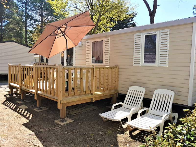 MOBILHOME 4 personnes - n10 - 2 chambres
