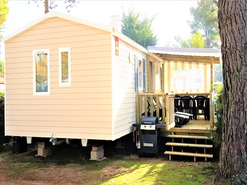 MOBILHOME 4 personnes - n131 - 2 chambres
