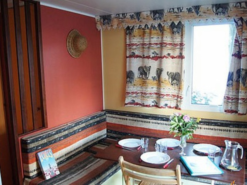 MOBILHOME 4 personnes - CONFORT, 2 chambres + TV