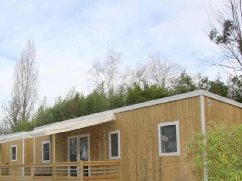 MOBILHOME 10 personnes - Luxe - 4 chambres + SPA privatif