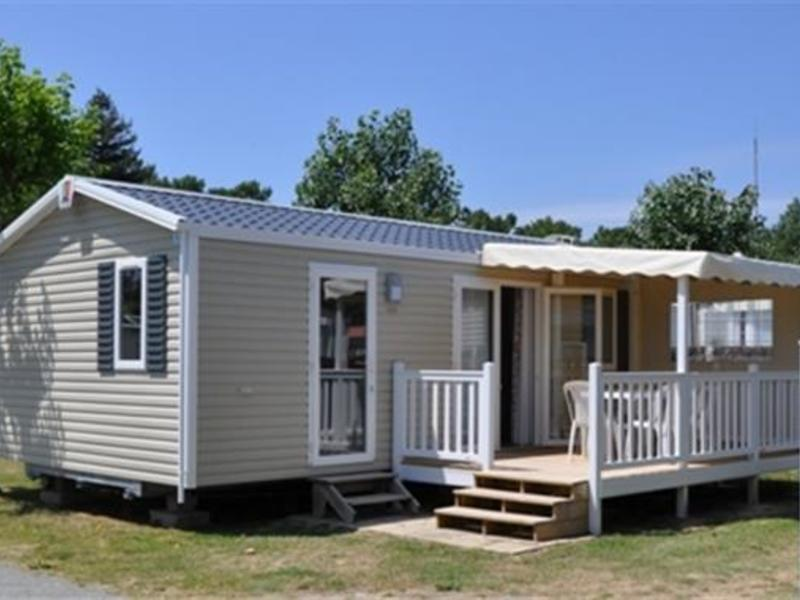 MOBILHOME 5 personnes - 30m2, 2 chambres + TV